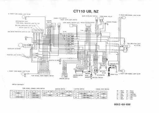 Ct110 Wiring Diagram Wiring Diagram