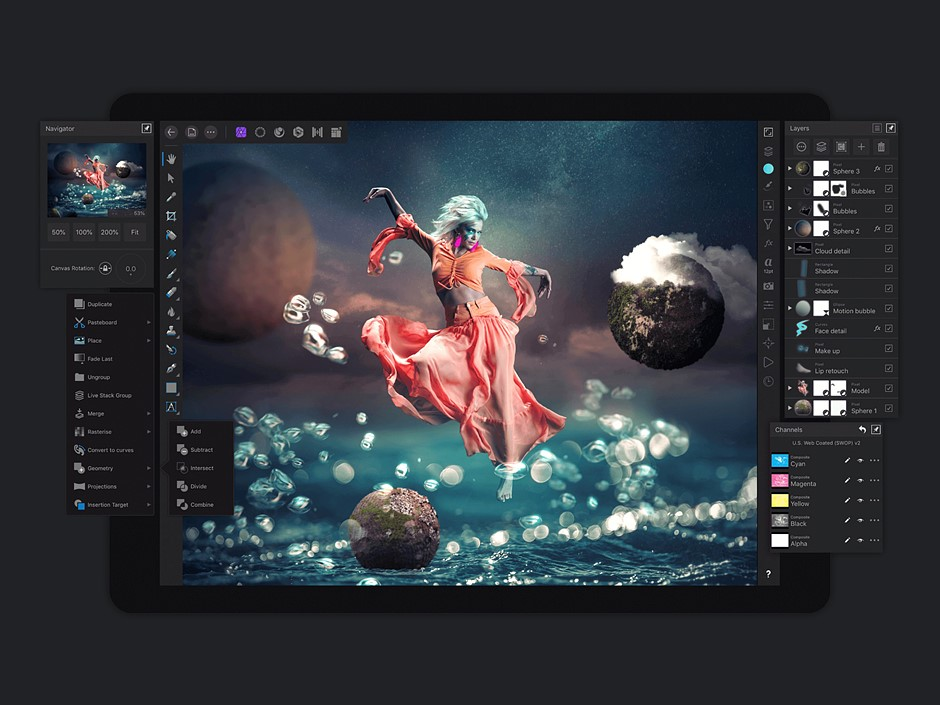 Affinity Photo for iPad gets major update, 30 off discount Digital