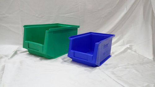 Plastic Green And Blue Industrial Bins 45 Size
