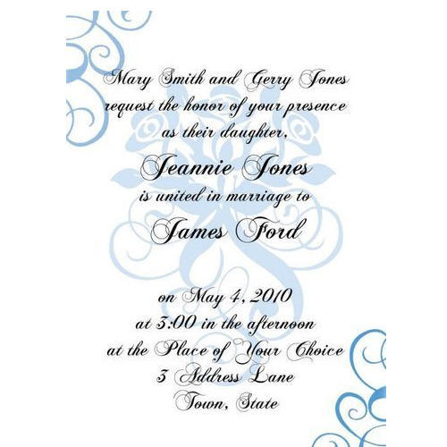 Formal Invitation Card at Rs 20 /piece Anniversary Invitation Card - formal invitation