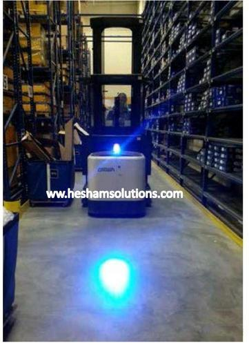 Spot Led Blue Led Forklift Safety Spotlight 6w At Rs 4500 /piece