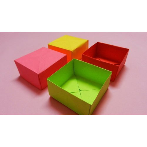 Color Paper Box at Rs 50 /piece Color Paper Box ID 13098833548