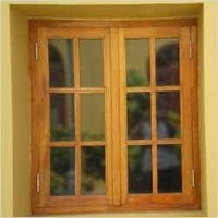Wooden Windows Frame at Rs 80 /square feet(s) | Wooden ...