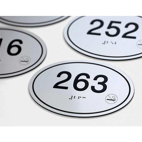 Ss Room Number Labels Shree Enterprises Manufacturer in Bhandup