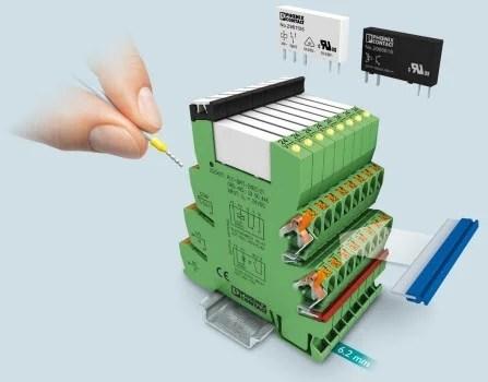 Pheonix Slim Relay, Phoenix Contact - Inno Power Solutions, Chennai