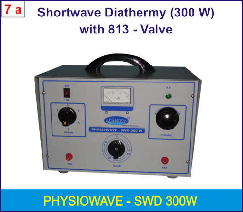 Shortwave Diathermy 300w, Short Wave Diathermy Equipment - Tamilnadu