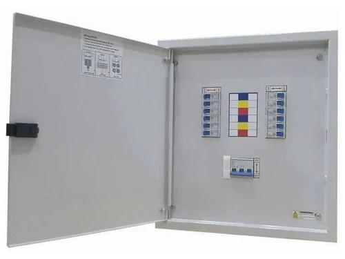 Vertical three Phase Neutral Distribution Box - MCB Distribution