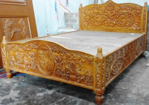 Sofa Bed With Metal Frame Designer Wooden Diwan Bed Manufacturer From Begusarai