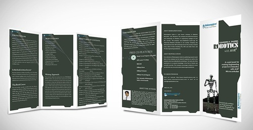 Two Fold Brochures  Catalogues Printing Services in Sir Syed Ahmed - two fold brochure