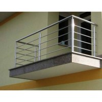 Grills And Railings - Stainless Steel Balcony Railings ...