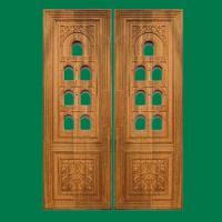 Teak Wood Pooja Room Door Furniture,   ,  ...