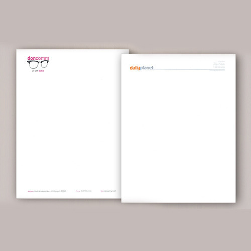 Personal Letterhead Printing Service in Gurgaon, Shri Anand Print