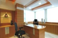 Contemporary Office Cabin Interiors in Malad West, Mumbai