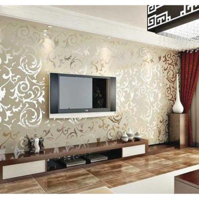 Living Room Wallpaper at Rs 1500 /square feet | लिविंग रूम वॉलपेपर्स - D Design, New Delhi | ID ...