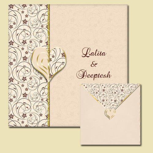 Wedding Invitation Card at Rs 30 /piece(s) Wedding Cards ID