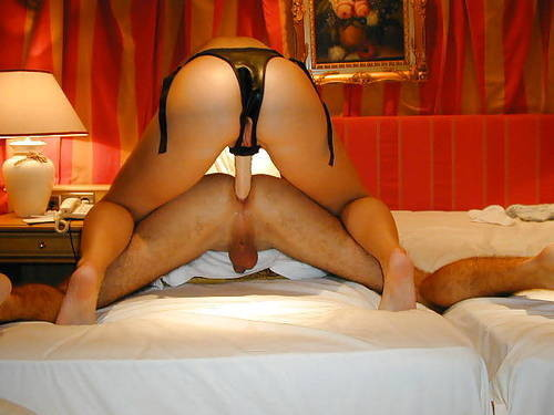 husband tied up strapon