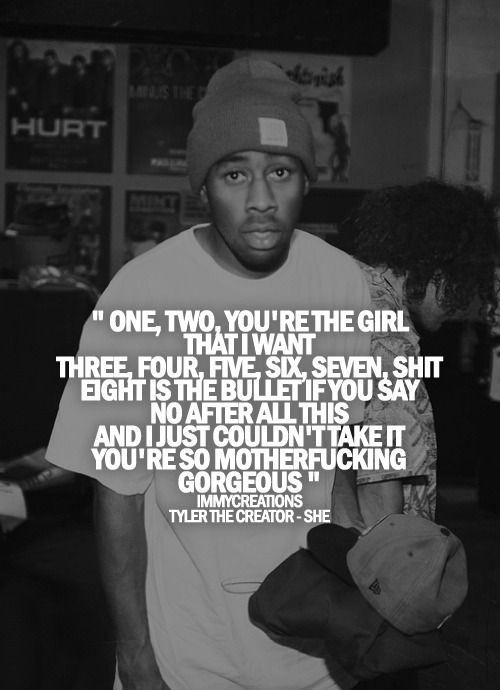 Granted Quotes Wallpaper Tyler The Creator Quotes Quotesgram