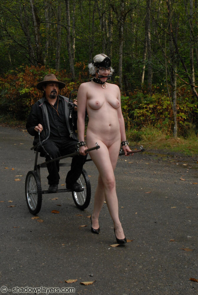 pony girl slave caption
