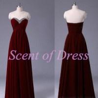 burgundy prom dresses   Tumblr