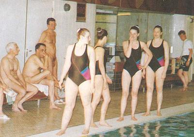 mixed gender naked swimming ymca