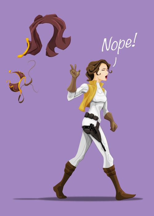 The Yellow Wallpaper Important Quotes Illustration Star Wars Princess Leia Fan Art Slave Leia