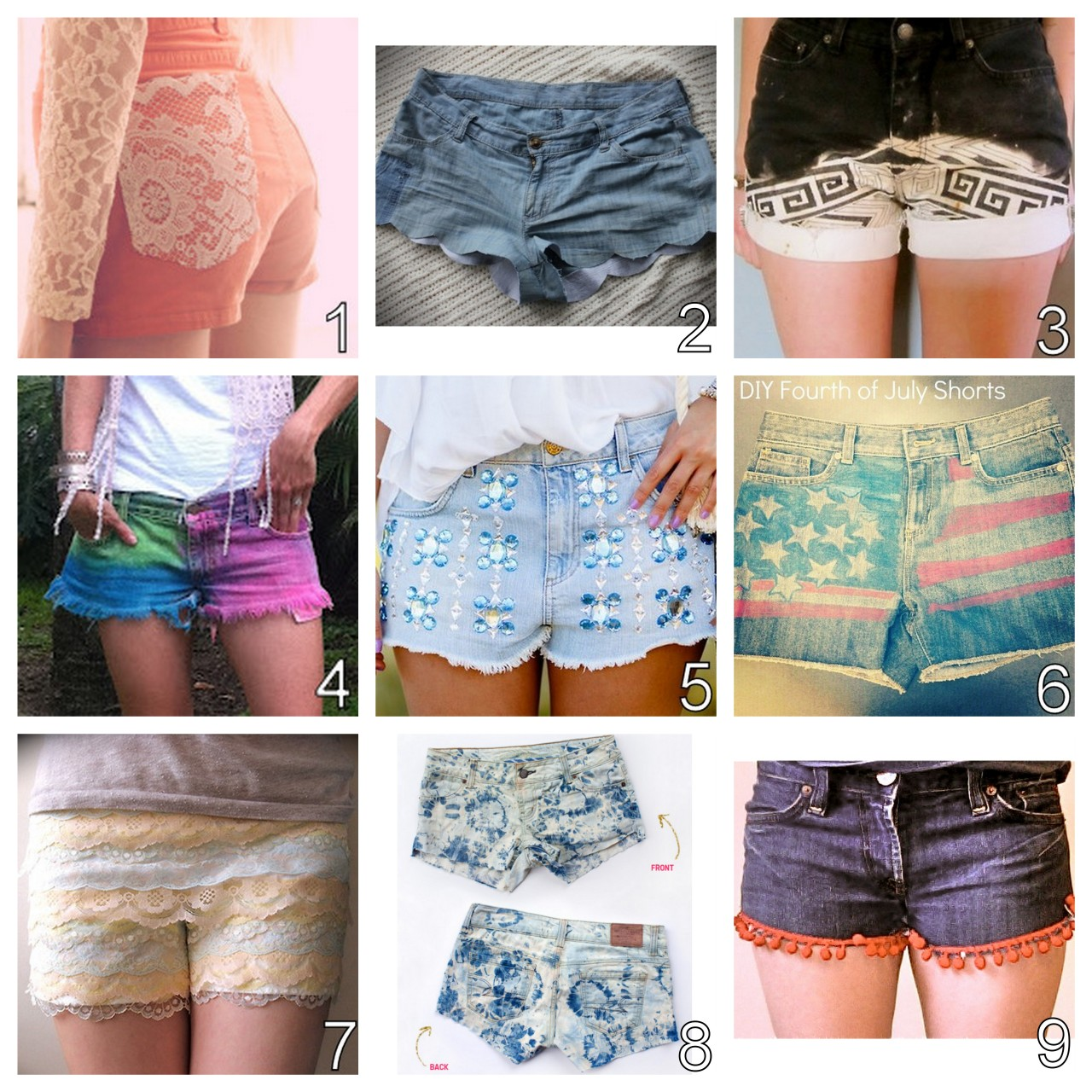 Diy Clothes For Summer The Do It Yourself Source Truebluemeandyou Diy Summer
