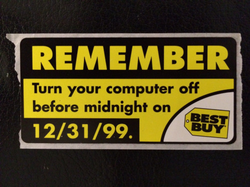 REMEMBER Turn your computer off before midnight on 12 31 1999 - a - funeral program background