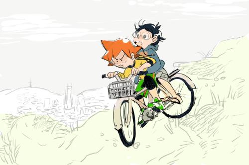 Anime Keren Tentang Menjadi Pebalap Sepeda Terbaik