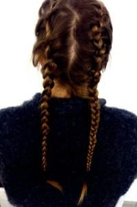 french braids | Tumblr