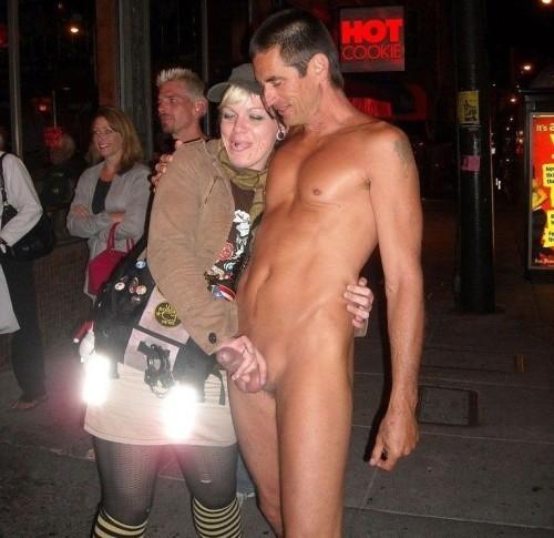 woman causing erection