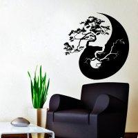 Vinyl stickers  Wall Decals Bonsai Tree Decal Vinyl ...