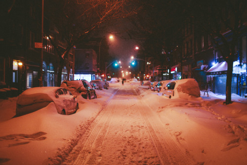 now-youre-cool:  Braving the Blizzard to Go to the Bar, Brooklyn, NY, January 23rd, 2016