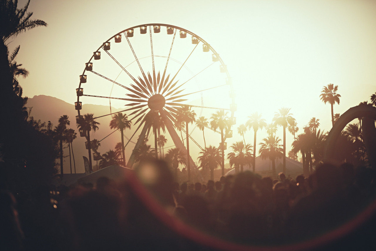 Fall Themed Wallpaper Desktop Coachella Milkstudios Golden Vibes At Coachella Photo