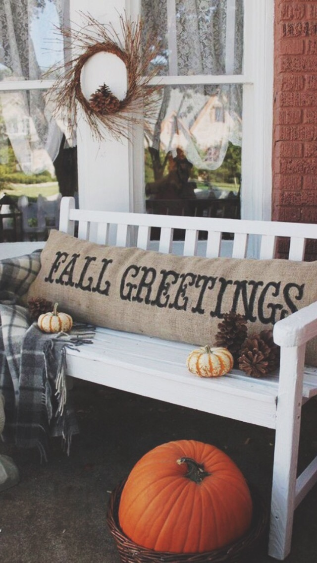 Fall Wallpaper With Pumpkins Tree Trees Coffee Fall Autumn Cozy Fox Sweaters Leaves