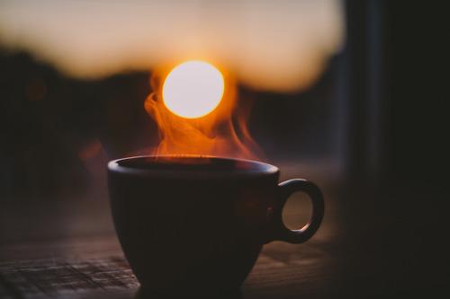 Dark Cozy Girl Wallpaper Winter Hot Chocolate Coffee Tea Autumn Warm Cozy Sunset