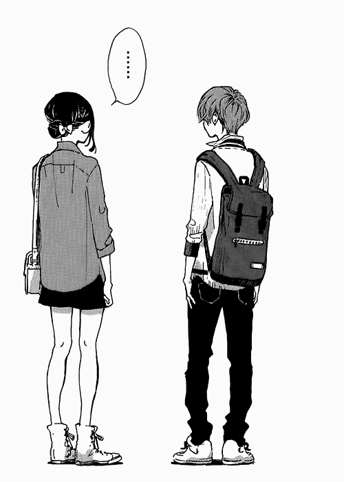 Tall Boy Short Girl Couple Wallpaper Stand Up Manga Tumblr