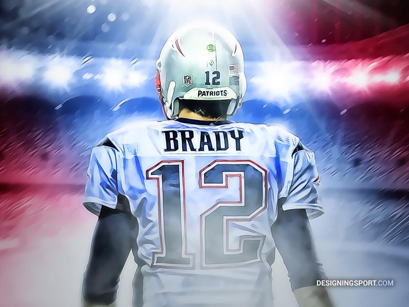 Tom Brady Wallpaper Iphone X Tom Brady New England Patriots Sport Art Designing Sport