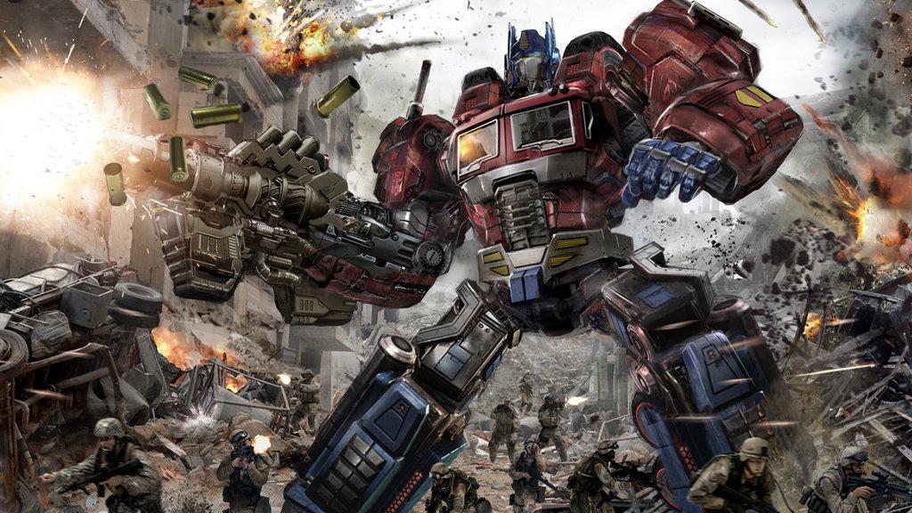 Transformers Fall Of Cybertron 4k Wallpaper Geek Art Gallery January 2016