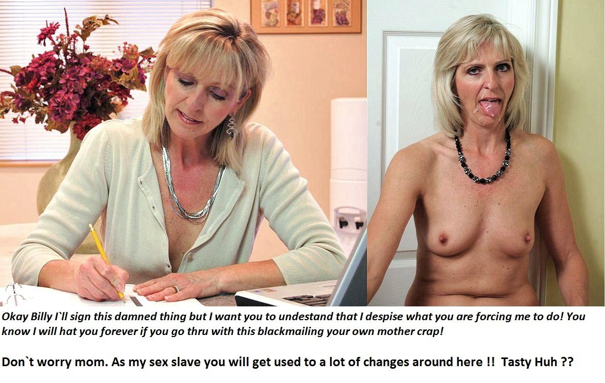 teacher porn blackmail mom captions