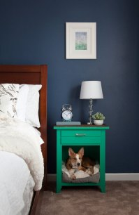 A snuggly space for your dog to sleep at least ...