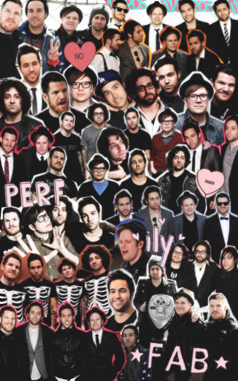 Iphone Lock Screen Wallpaper Not Showing Fall Out Boy Collages Tumblr