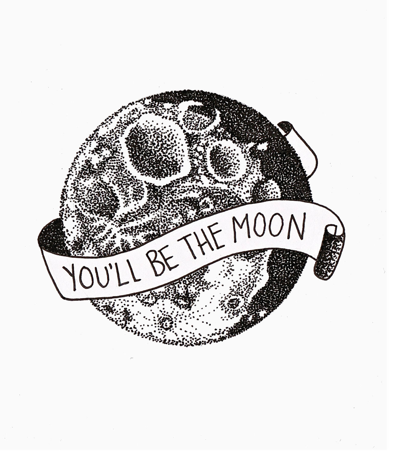 Full Moon Drawing Black And White Drawing Art Black And White Lyrics Moon Space Tattoo Earth