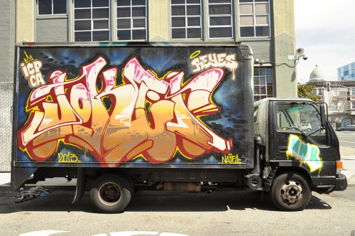 uponthewalls:  Joker by 24Karat. - Flickr Follow uponthewalls for more graff and bombing