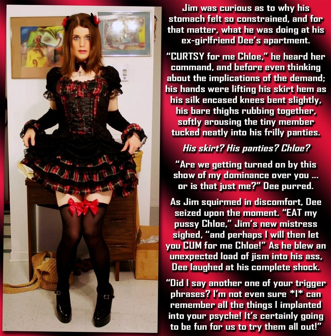 hypnosis sissy humiliation captions
