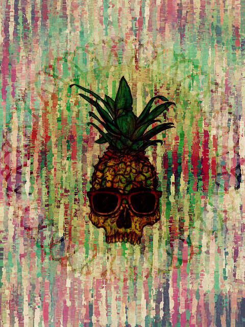 Iphone Wallpaper Trippy Pineapple Backgrounds Tumblr