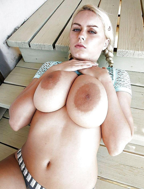 areola covered breasts