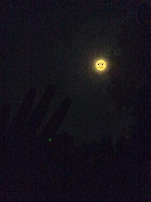 Iphone Wallpaper Trippy Moon Emoji On Tumblr
