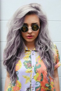 gray ombre hair | Tumblr