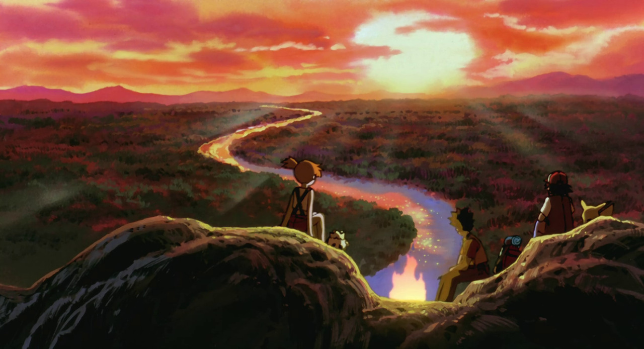 Pikachu Wallpaper Hd 1920x1080 Pokemon Anime Movie Animation Scenery Credits Ash Ketchum