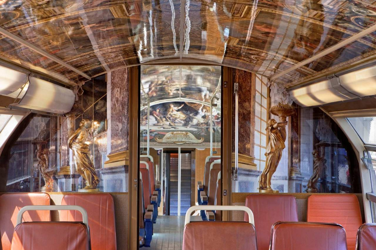 Interiors France Art Luxury Train Paris France Interior Of Classy Decor